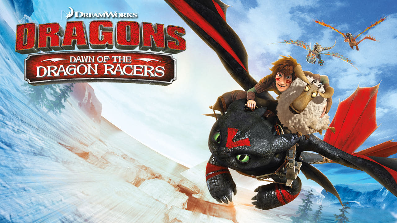 cover-Dragons: Dawn of the Dragon Racers