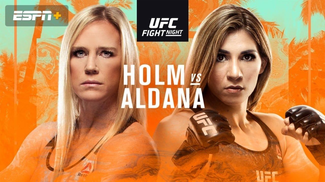 UFC on ESPN 16: Holm vs. Aldana 1