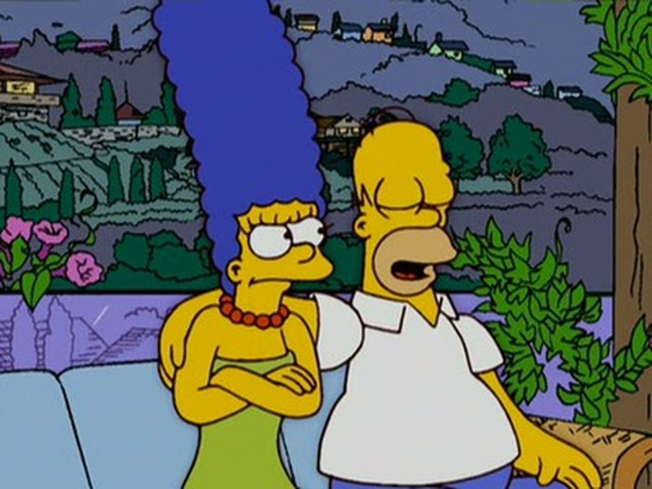 simpsons episode where homer and marge meet
