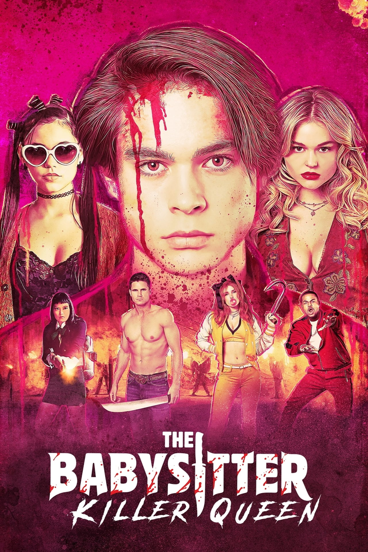 Download Netflix The Babysitter: Killer Queen (2020) Dual Audio {Hindi-English} 480p [350MB] || 720p [950MB] || 1080p [2.4GB]