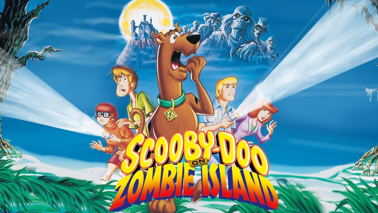 cover-Scooby-Doo en la isla de los zombies