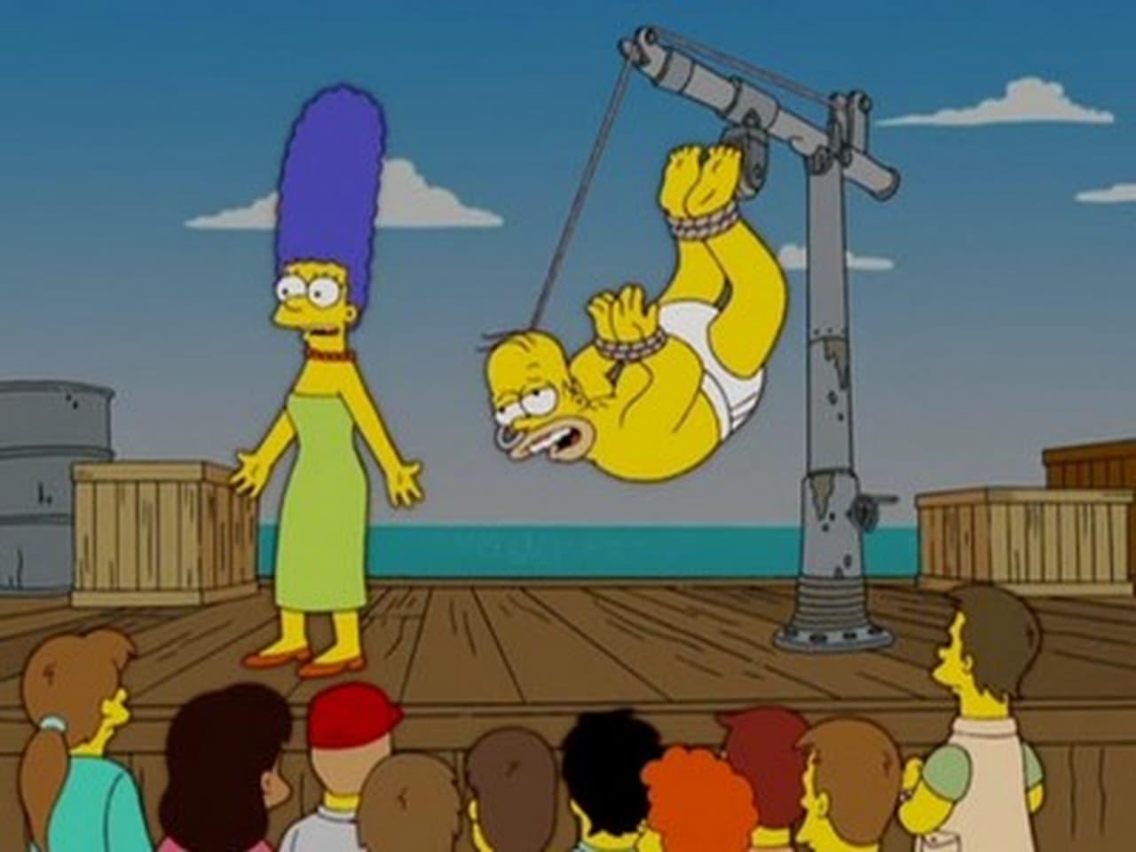 The Simpsons - Season 18 Episode 10 : The Wife Aquatic