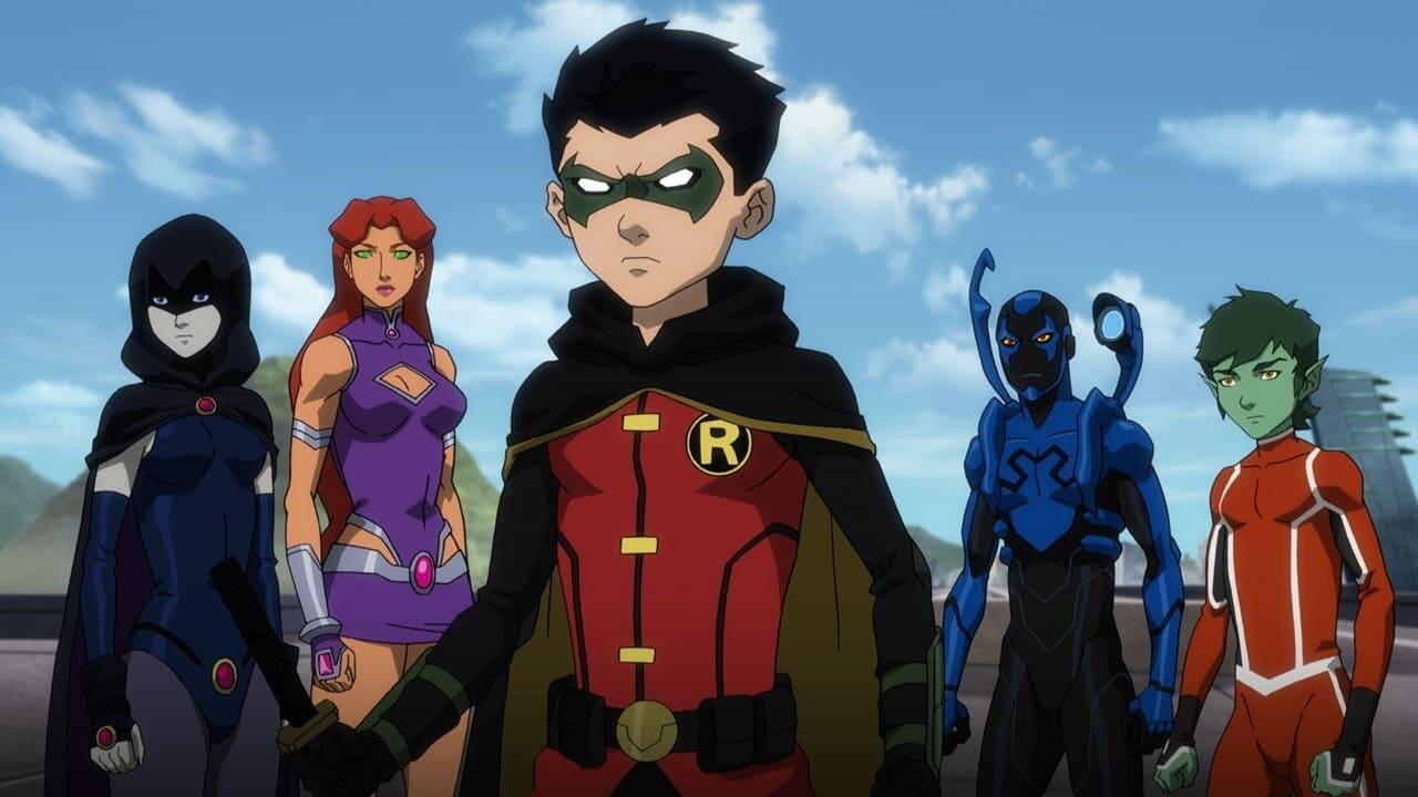 Justice League vs. Teen Titans 3