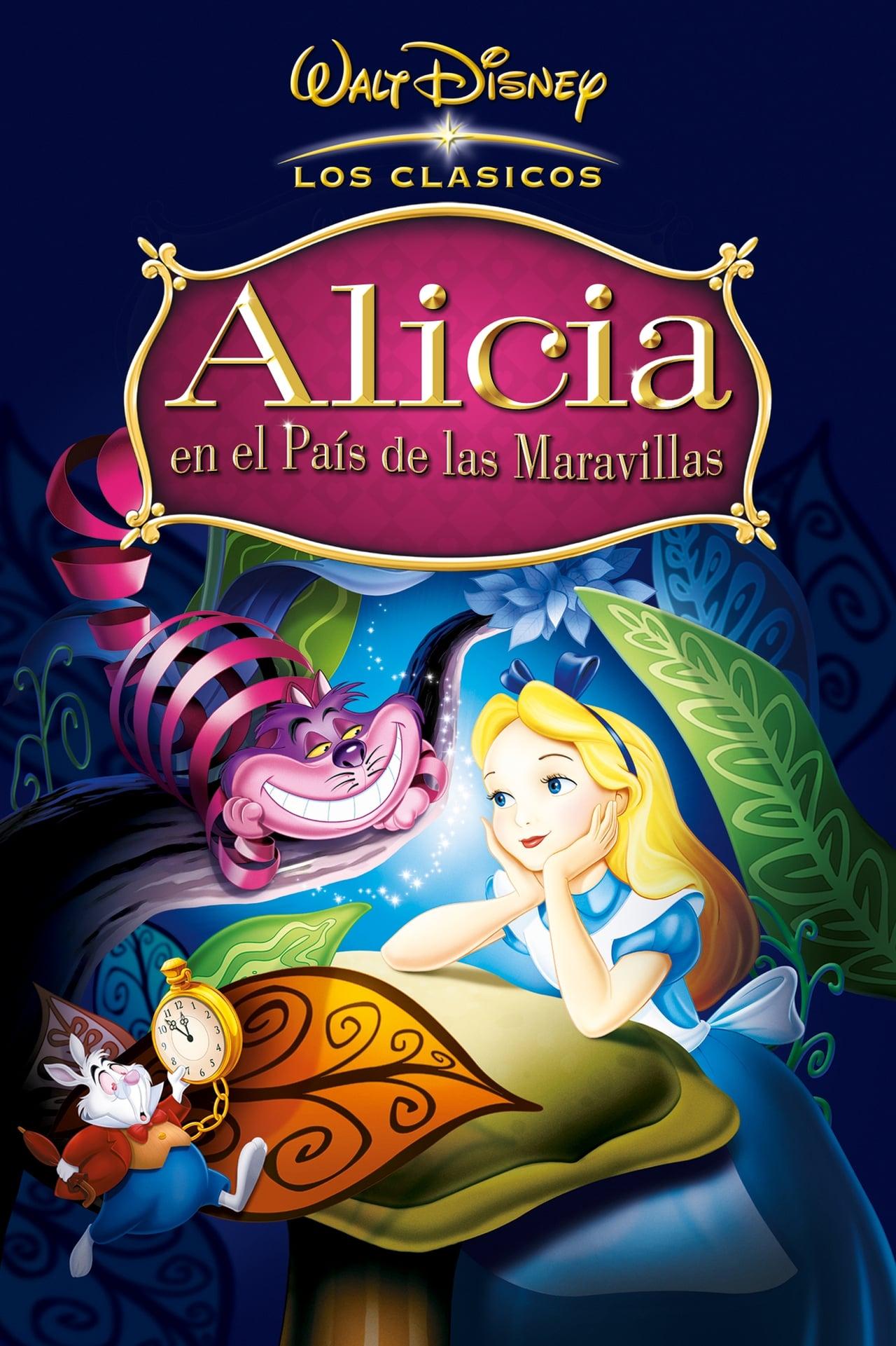 Ver Alicia en el país de las maravillas (1951) Online