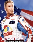 Filmomslag Talladega Nights: The Ballad of Ricky Bobby