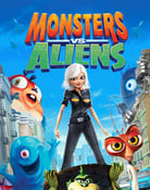 Filmomslag Monsters vs Aliens