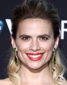 Hayley Atwell isPeggy Carter