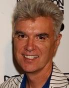 Grootschalige poster van David Byrne