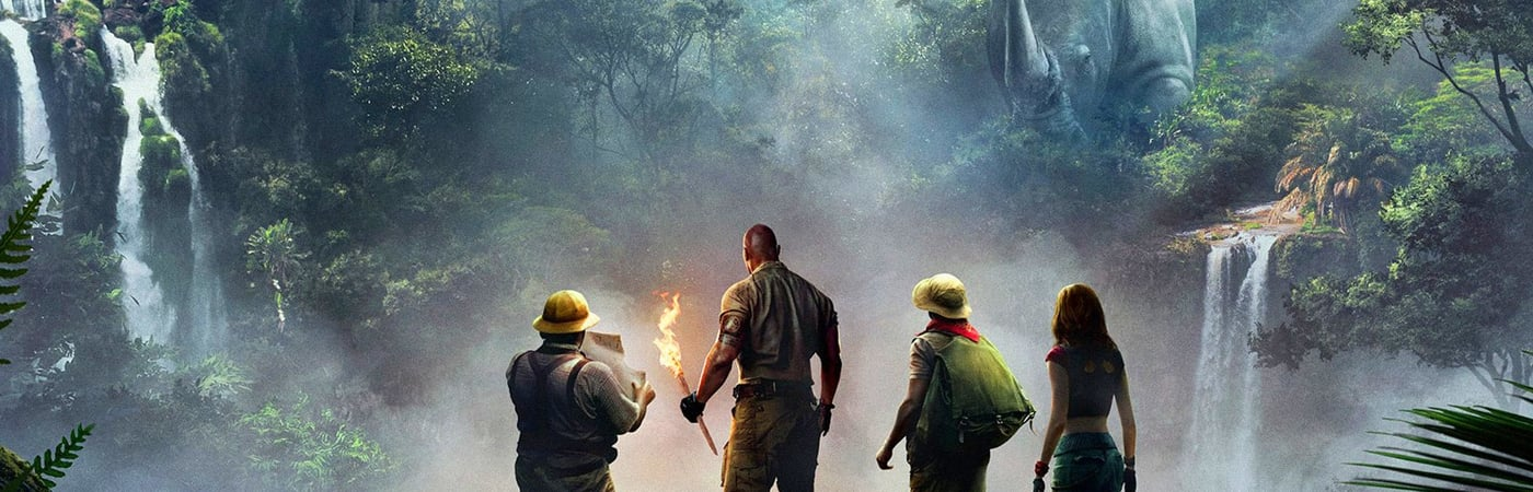 Ver Jumanji: Bienvenidos a la jungla