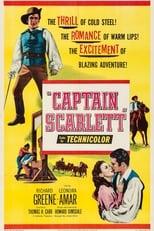 Captain Scarlett (1953) Box Art