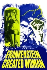 Frankenstein Created Woman (1966) Box Art