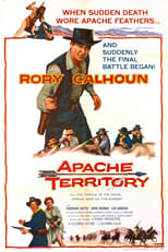 Apache Territory (1958) Box Art