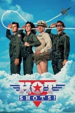 Official movie poster for Hot Shots! (1991)