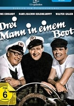 Drei Mann in einem Boot