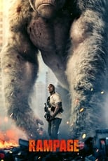 Official movie poster for Rampage (2018)