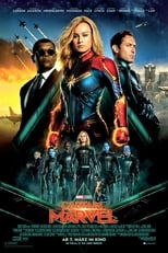 Filmposter: Captain Marvel