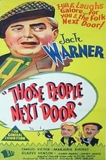 Those People Next Door (1953) Box Art