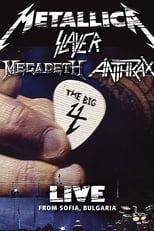 Metallica/Slayer/Megadeth/Anthrax: The Big 4: Live from Sofia, Bulgaria (2010) Torrent Legendado