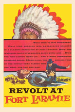 Revolt at Fort Laramie (1957) Box Art