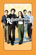 Official movie poster for Adventureland (2009)