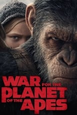 Official movie poster for War for the Planet of the Apes (2017)