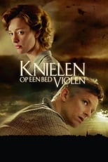 Poster for Knielen op een bed violen