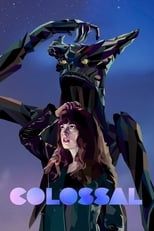 Official movie poster for Colossal (2017)