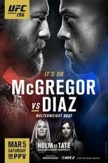 UFC 196: McGregor vs Diaz