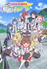Poster anime Action Heroine Cheer FruitsSub Indo