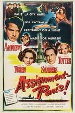 Assignment: Paris (1952) Box Art
