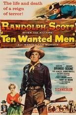 Ten Wanted Men (1955) Box Art