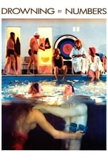 Official movie poster for Drowning by Numbers (1988)