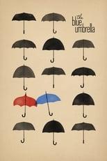 Der blaue Regenschirm