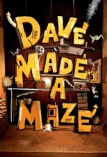 Poster for Dave Made a Maze