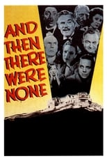 Poster van And Then There Were None
