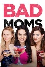 """Bad Moms: Die junge Mutter Amy Mitchell versucht, Karriere und Familie zu balancieren. Das ist schwer und wird noch schwerer, als sie herausfindet, dass ihr Mann Mike, ohnehin keine große Hilfe beim Hüten der frechen Kinder, sie auch noch betrügt. Amy platzt der Kragen, aus der braven Ehefrau wird eine """"Bad Mom"""". Sie schmeißt ihren Mann raus und bekommt zusammen mit zwei anderen Müttern, der frivolen Carla  und der braven Kiki, einen Geschmack davon, was Freiheit wirklich bedeutet: Das Trio hört auf, nett und perfekt zu sein, setzt fortan lieber auf Genuss – und das ziemlich unverschämt. Muster-Mama Gwendolyn James findet den freizügigen Spaßtrip völlig daneben und versucht, mit Intrigen zu intervenieren. Amy aber sieht das nur als weiteren Kick…"""