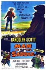 Man in the Saddle (1951) Box Art