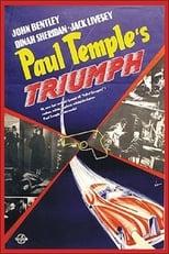 Paul Temple's Triumph (1950) Box Art