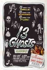 13 Ghosts (1960) Box Art