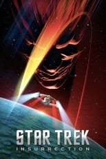 Official movie poster for Star Trek: Insurrection (1998)