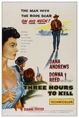 Three Hours To Kill (1954) Box Art