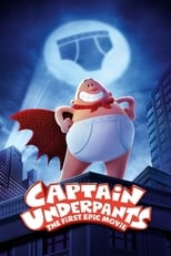 Official movie poster for Captain Underpants: The First Epic Movie (2017)