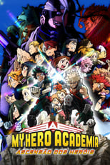 My Hero Academia – Boku no hîrô akademia THE MOVIE – Heroes: Rising – Hîrôzu: Raijingu (2019) Torrent Legendado