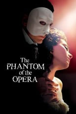 Official movie poster for The Phantom of the Opera (2004)