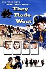 They Rode West (1954) Box Art