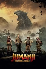 Official movie poster for Jumanji: Welcome to the Jungle (2017)