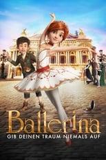Ballerina: Die Füße der jungen Félicie wollen einfach nicht still stehen, denn schon seit langem träumt sie von nichts anderem als einer Karriere als Tänzerin. Doch der Traum des Waisenmädchens wird von niemandem geteilt – nur der gleichaltrige Victor der als ehrgeiziger Nachwuchserfinder ebenfalls belächelt wird, glaubt an Félicie. Gemeinsam fassen sie den Entschluss, dem tristen Dasein im Waisenheim zu entfliehen und Richtung Paris zu türmen. Dort angekommen werden die beiden getrennt und Félicie ist ganz auf sich allein gestellt. Doch was sie vor Ort zu sehen bekommt bestärkt nur ihren Wunsch, einmal auf der Bühne des Pariser Opernhauses zu tanzen. Weil ein Platz in der renommierten Ausbildungsstätte aber nicht leicht zu bekommen ist, braucht Félicie nicht nur Hilfe, sondern auch einige Tricks…