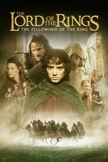 Official movie poster for The Lord of the Rings: The Fellowship of the Ring (2001)