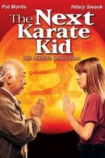 Karate Kid IV - Die nächste Generation: Mister Miyagi, der japanische Karatemeister, soll Julie Pierce helfen, von ihrem jugendlichen Zorn loszukommen. Die junge Rebellin ist die Tochter einer befreundeten Familie und ist gerade an eine neue Schule gekommen. Dort wird sie von ihren Mitschülern traktiert, weswegen sie sich von Miyagi einige Tricks aneignet und zu seiner Meisterschülerin wird. Aber Julie muss nicht nur lernen, wie sie sich richtig und effektiv verteidigen kann. Viel wichtiger ist, dass ihr beigebracht wird, wie sie ihre Aggressionen in positive Energie umleiten kann, um so nicht von Wut zerfressen zu werden. Mister Miyagi muss einen Draht zu dem aufmüpfigen Mädchen finden, um ihr klar zu machen, dass sich Probleme nicht mit Wut und Gewalt lösen lassen, sondern die richtige mentale Einstellung erfordern.