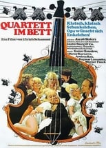 Quartett im Bett